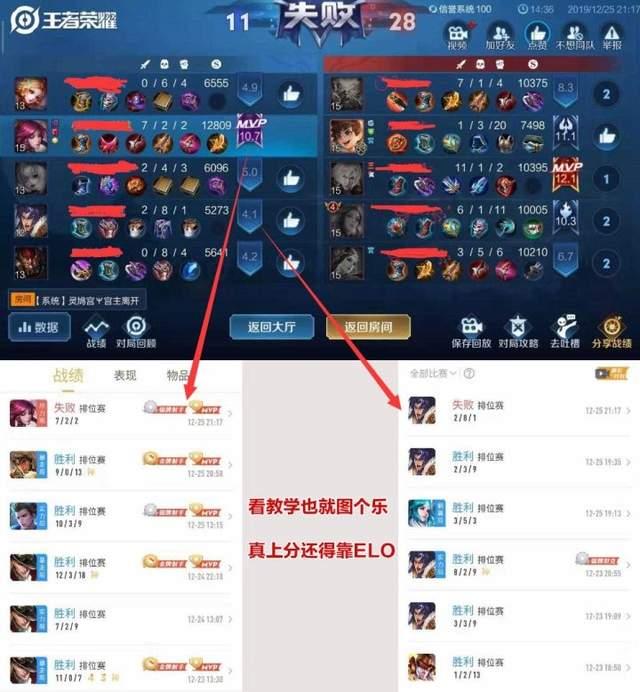 《【煜星娱乐公司】王者荣耀:明明啥都会玩的也还好,但就是老是输?这就要问问elo》