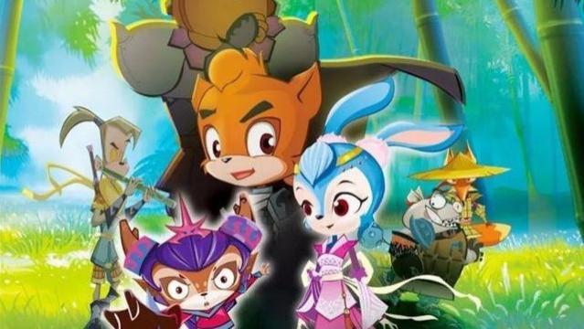 《虹猫蓝兔》最辣眼睛的一部,猪无戒变野猪,黑心虎变胖子!