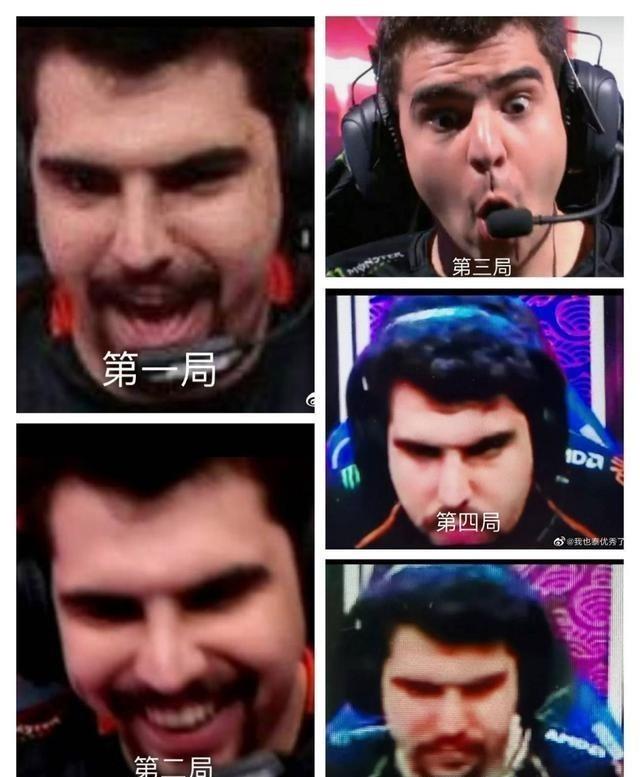 三星258_Bwipo比赛时和比赛后的表情对比太真实了,还是个左撇子!-第4张图片-游戏摸鱼怪