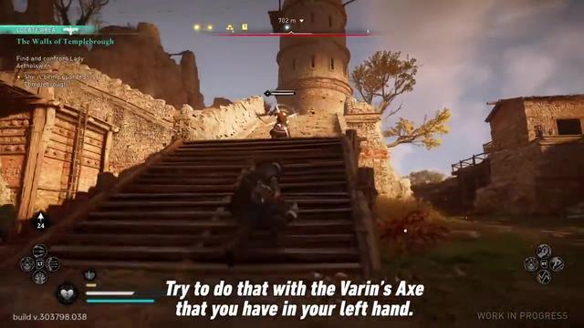 《刺客信条:英灵殿》新视频展示了各种蛮力技能插图(2)