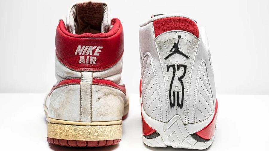 11双乔丹亲穿元年AJ正在拍卖!有一双居然不是篮球鞋