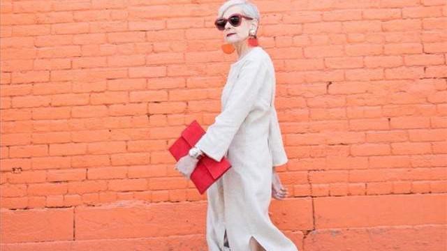 时尚与年龄真的无关!看这位70岁奶奶的时髦穿搭,越老越有范儿