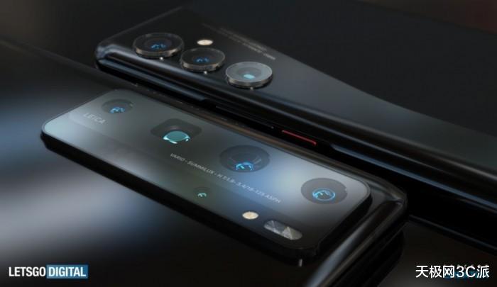 华为P50Pro高清渲染视频曝光,支持10倍无损光学变焦 好物评测 第2张