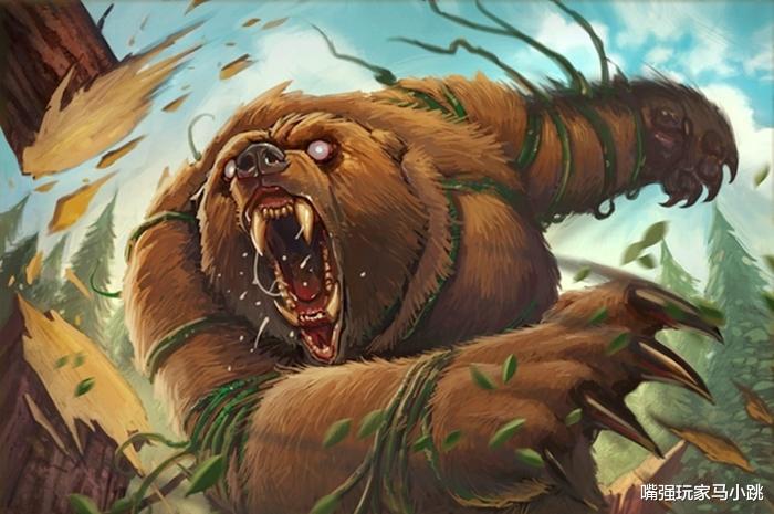 """《【煜星app注册】炉石传说:你玩过""""保镖猎""""吗?超大的冲锋野兽,空场35点斩杀》"""