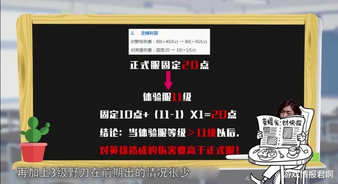 王者荣耀:新版本黄打野刀被砍废了?事实却是真伤大幅度增加插图(2)