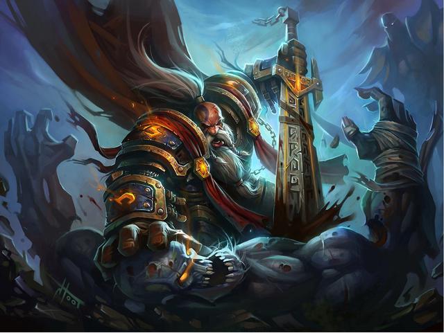 双枪游侠_炉石传说:骑士新橙曝光,却是一位恶魔,这次报告兵都不好解了