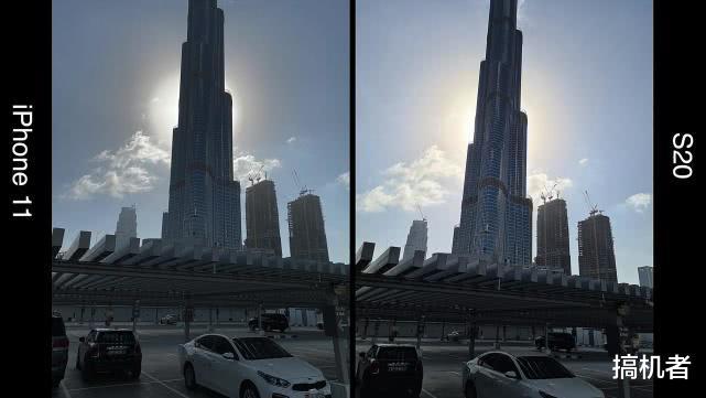 三星S20与iPhone11仅相差1颗镜头:真实拍照差距有多大?