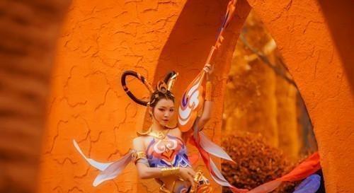 《【煜星娱乐登陆官方】若问前世,皆在风中,杨玉环遇见飞天,领会不一样的峡谷英雄》