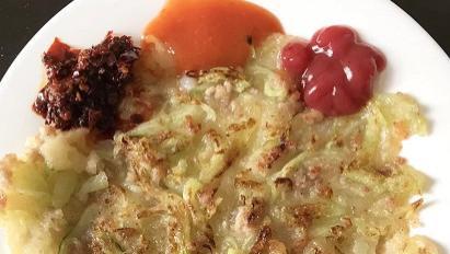 青瓜烙,经典的潮汕美食!