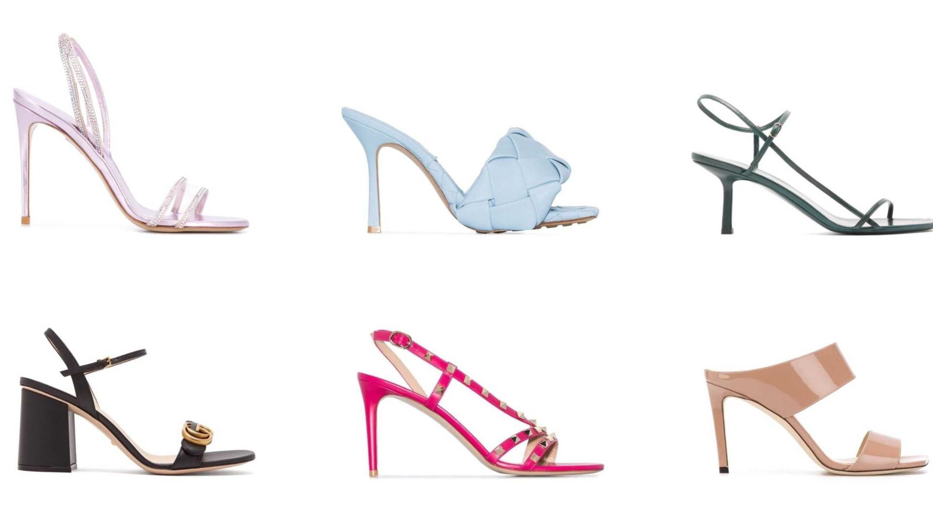 美鞋在穿搭造型中很重要!大牌露趾高跟凉鞋,修长双腿优雅迷人