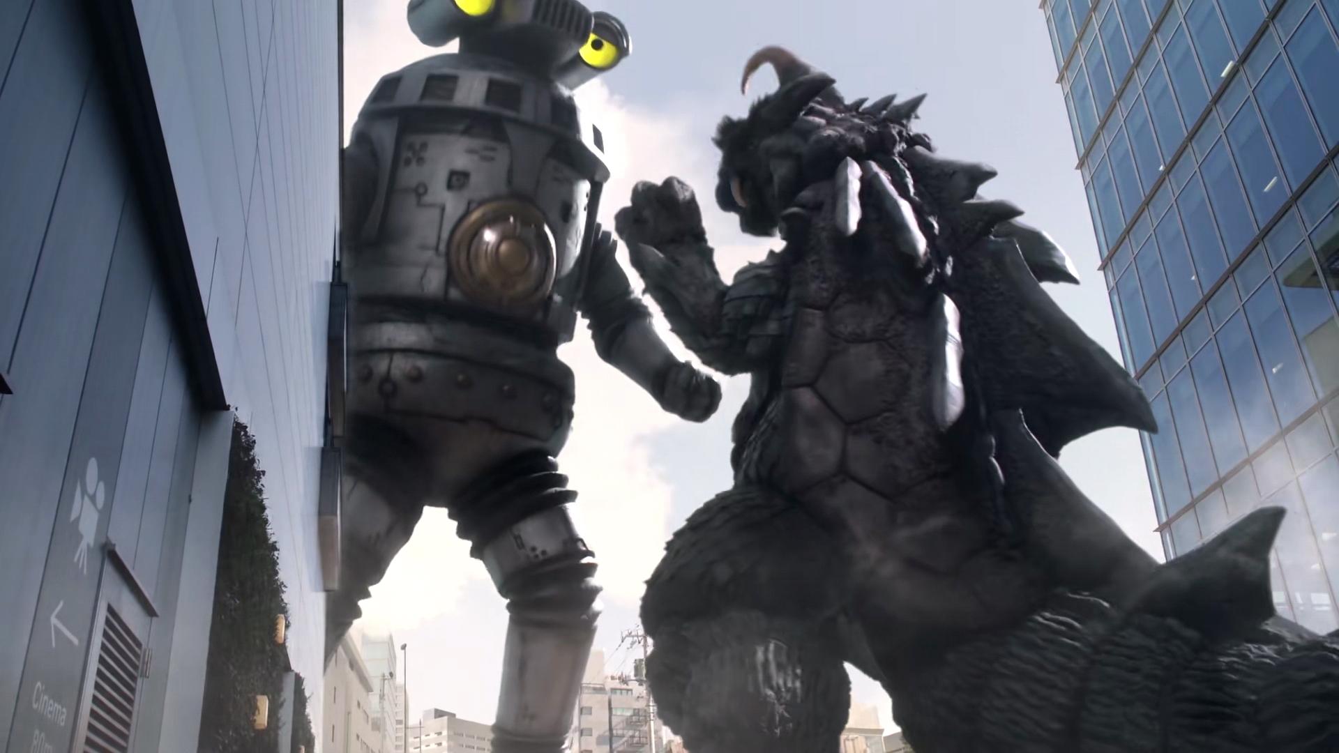 泽塔奥特曼:双怪兽登场,赛文加表现很好,机甲时代到来?