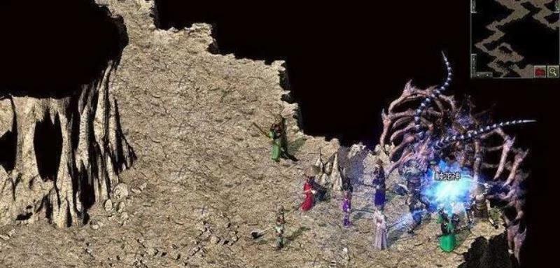决斗之城_热血传奇:游戏中最难打的这两个BOSS,一不留神可能就会团灭