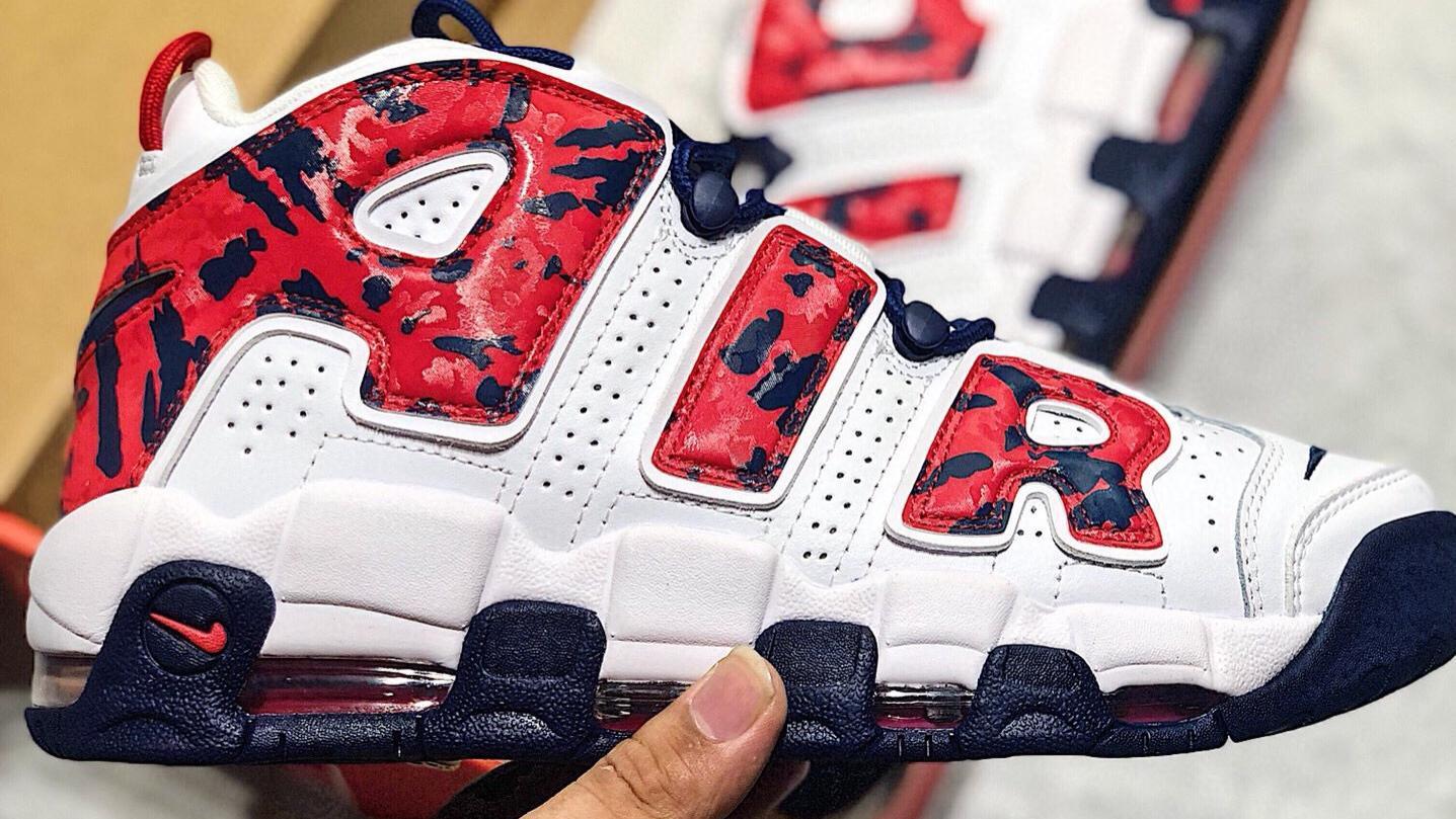 耐克Nike Wmns Air More Uptempo White Aqua Gum  皮蓬经典高街百搭篮球鞋系列。