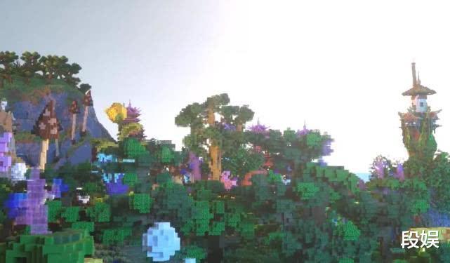 《【煜星娱乐注册官网】在《我的世界》中不眠不休90天修建最强岛屿,堪称神界的存在!》