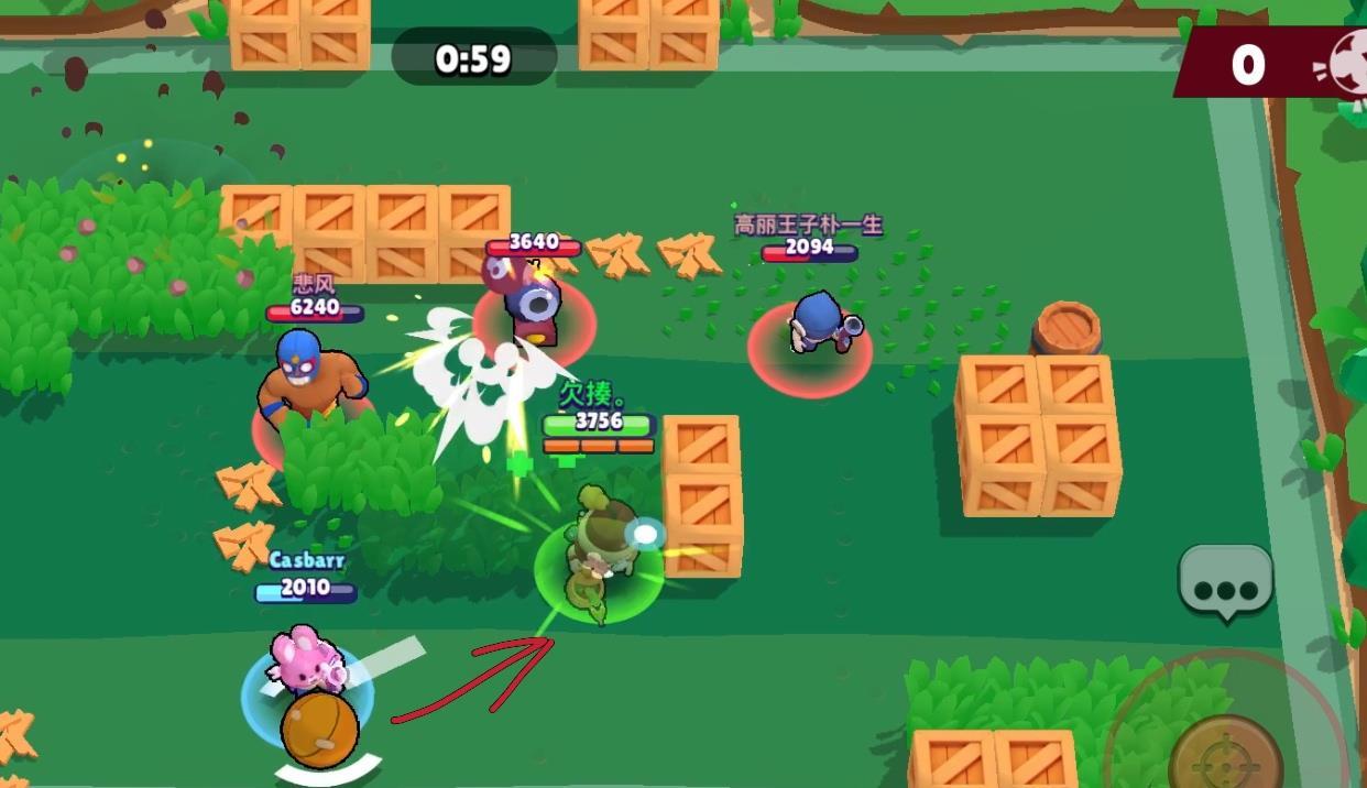 《荒野乱斗》新手玩家入游须知,观看敌人脚下可以判断超级技能 荒野乱斗 端游热点  第3张