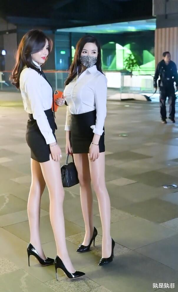 """百搭的衬衫遇上黑裙,塑造经典""""都市丽人""""气质插图4"""