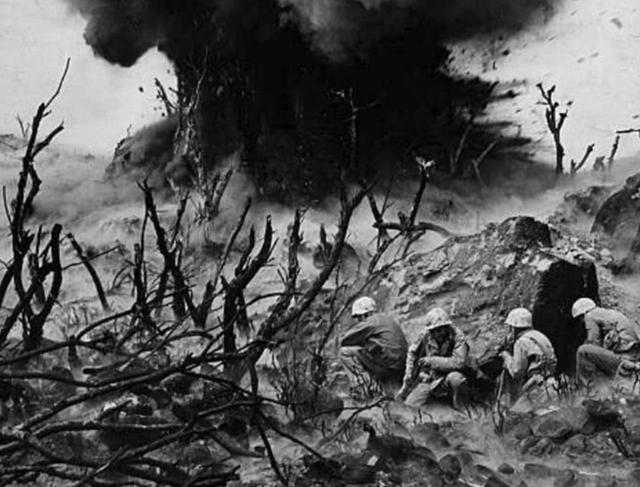 太平洋最惨烈一战!一个弹丸之地让美军犹豫,明知凶险还是要强攻