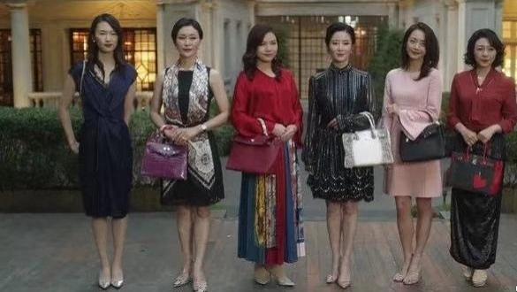 三十而已太太们的包都是真的,得知包包是谁带进组的,羡慕了!