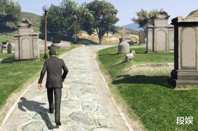 《GTA5》最触动人心的瞬间,小狗守护主人,直到生命的最后一刻!插图