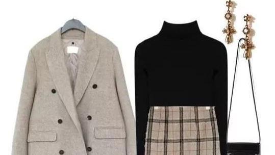 3件外套就能轻松美一冬?别不信,看看这些穿搭平铺图就知道了