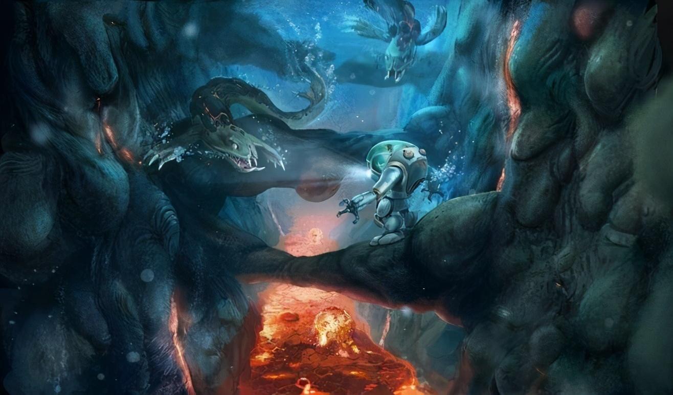 草稚京_除了诱人美景和万千宝藏,这个游戏海底还盘踞着万米上古神兽-第1张图片-游戏摸鱼怪