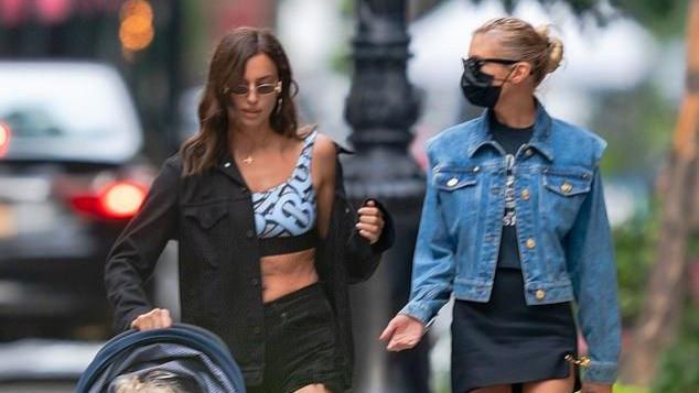 C罗前女友与库珀同框遛娃,看超模穿搭,便知两人是否有复合可能