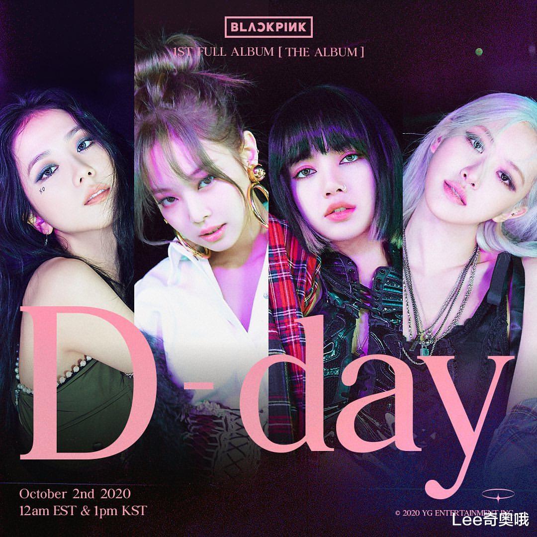 BLACKPINK新专辑在全球取得耀眼成绩刷新K-Pop女团纪录
