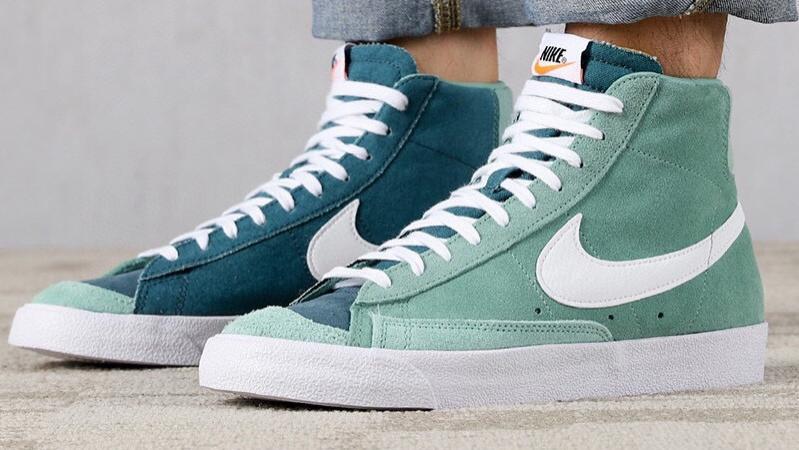 耐克Nike Blazer Mid '1977 Vintage WE 新配色阴阳鞋