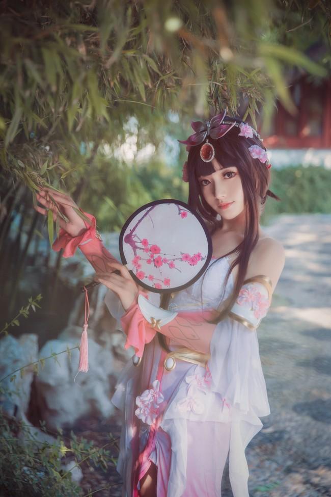 《【煜星娱乐线路】不到园林,怎知春色如许?王者荣耀甄姬cosplay》
