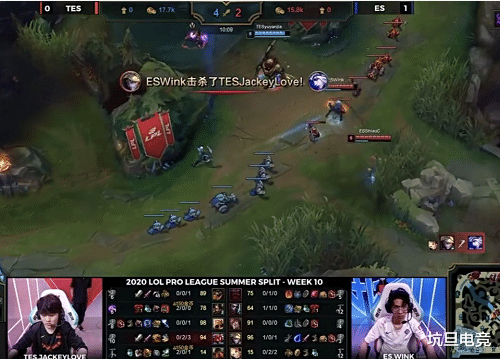 《【煜星娱乐注册平台官网】Jackeylove再现向前闪现,Yuyanjia想让头没成,TES提前锁定前四》
