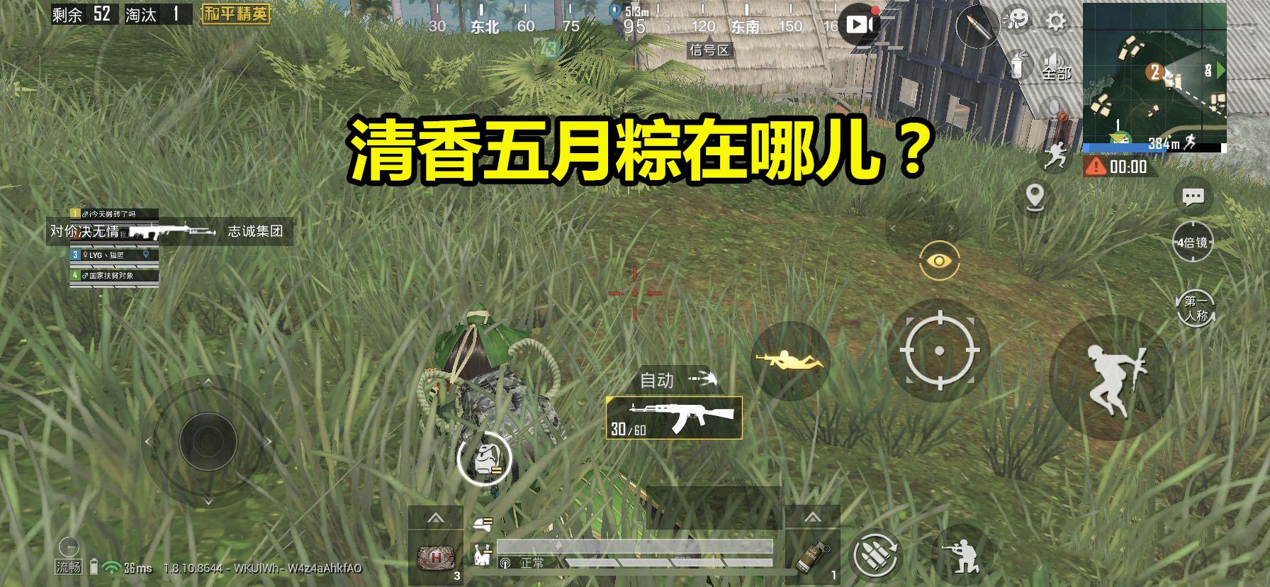 《【合盈国际在线平台】吃鸡玩家抽到清香五月粽,穿上护甲后发现了隐藏功能,赚大了!》