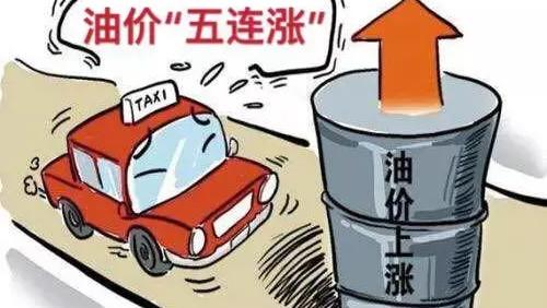 """油价""""五连涨"""",涨幅超670元/吨,今年第10次油价调整要上涨了?"""