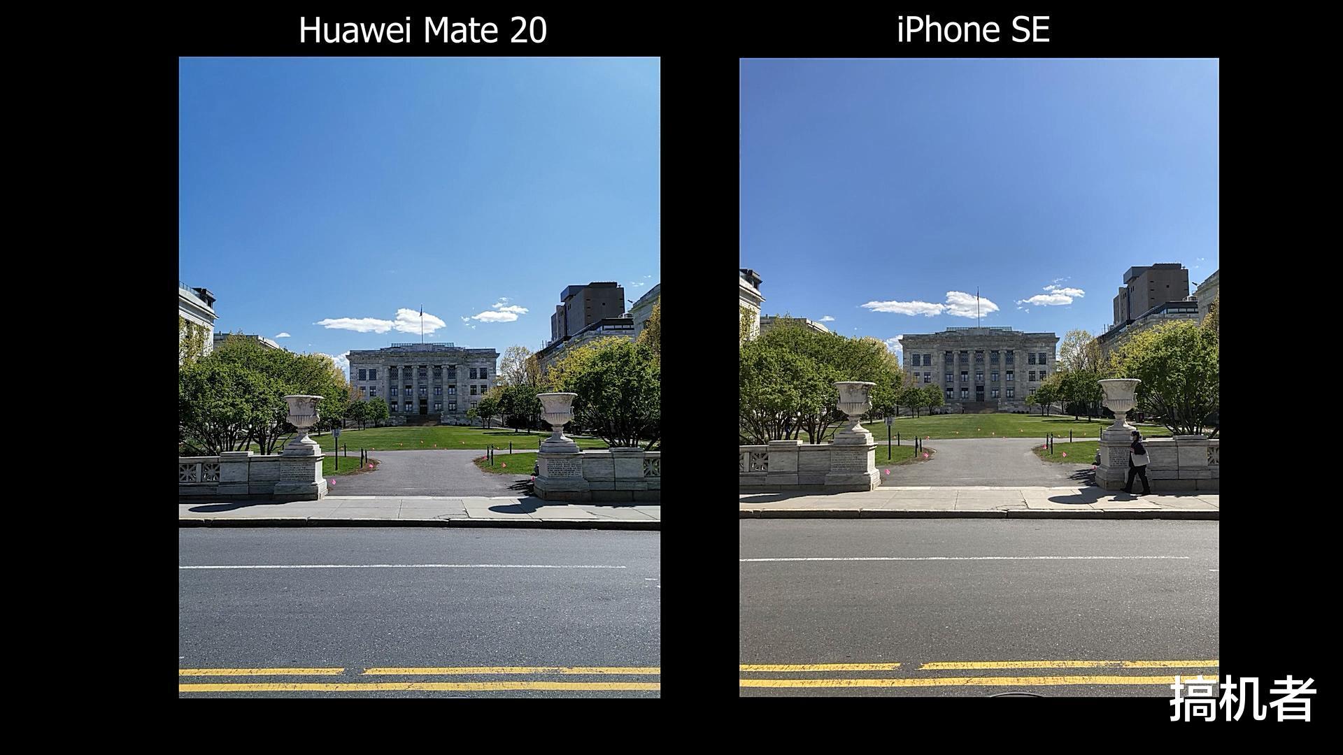 新iPhoneSE与华为Mate20拍照比拼:单镜头与三镜头的差距多大