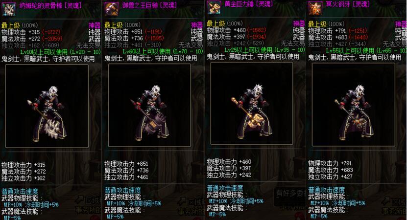 DNF:领主粉才是武器巅峰,为拿到这2把绝版,无数玩家肝了整整一年