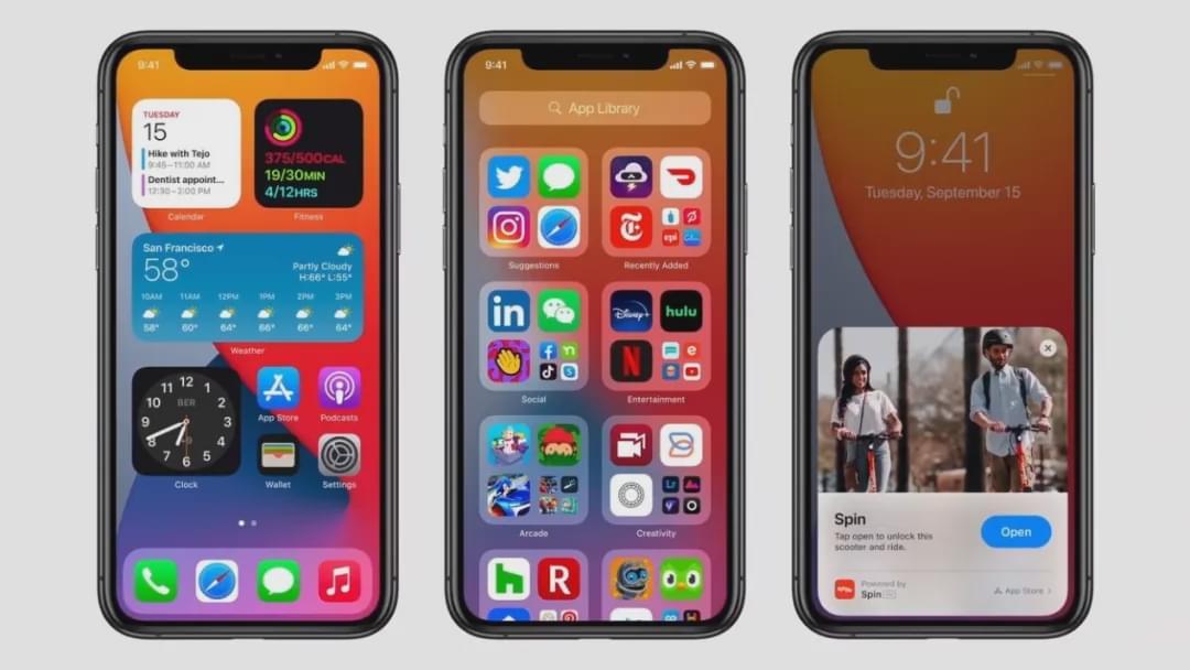 苹果 iphone iOS 14 正式版发布,升级须知及注意事项