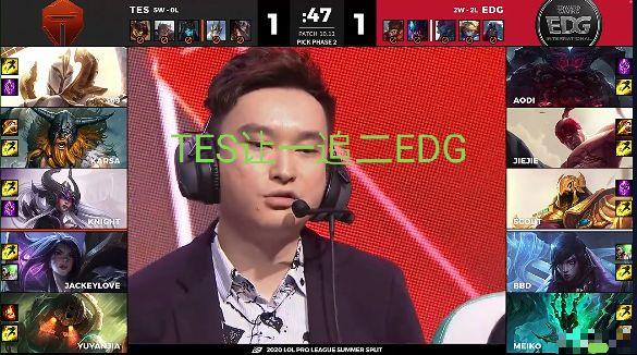 《【煜星娱乐主管】七点的EDG究竟多猛?看到第一局胜率后,粉丝:厂长的神秘力量!》