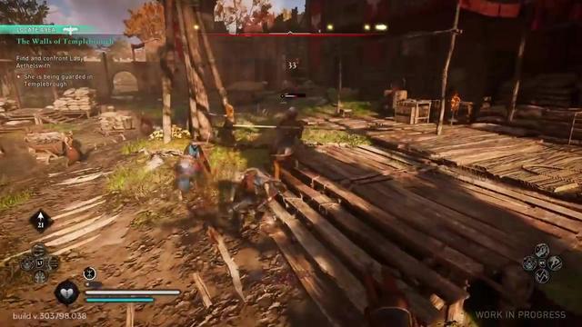 《刺客信条:英灵殿》新视频展示了各种蛮力技能插图(1)