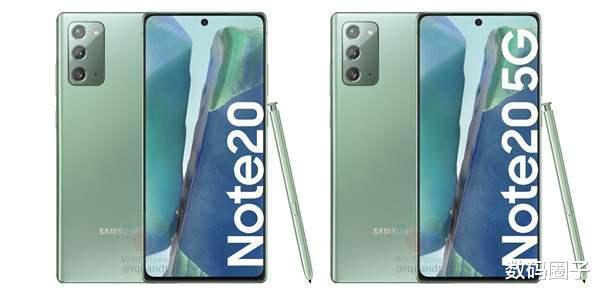 比发布会还要全,三星Galaxy Note 20系列配置都在这了!