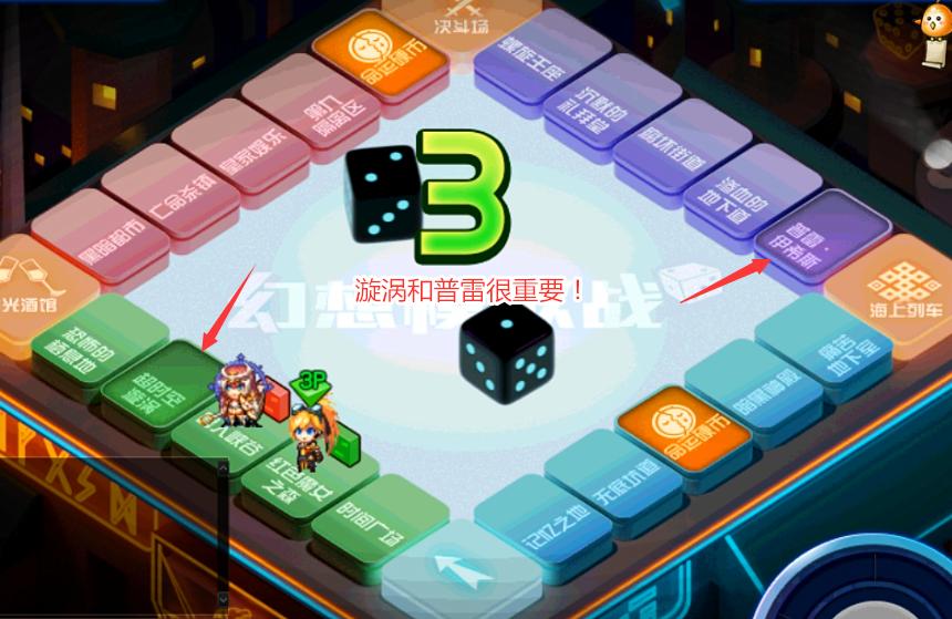 DNF:大富翁游戏攻略,胜利存在一定技巧,增幅保护券轻松拿到