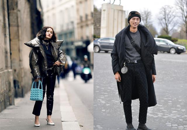 秋冬季节穿搭看这款,纯黑色棉服给你潮流范儿,快来pick它吧