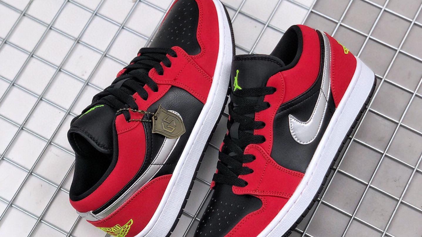 """Air Jordan 1 Low"""" Gym Red""""黑红"""