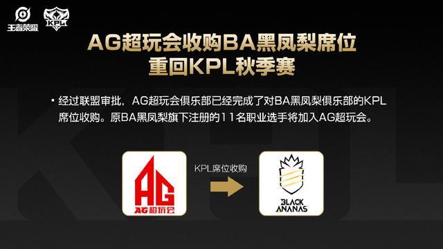 《【煜星娱乐app登录】YTG售卖KPL席位6100万起, 李宁京东有意购买, LGD大鹅AG成交8000万》