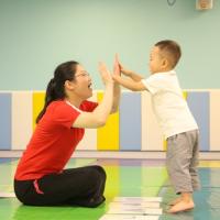 一位重视孩子早期教育的刘女士