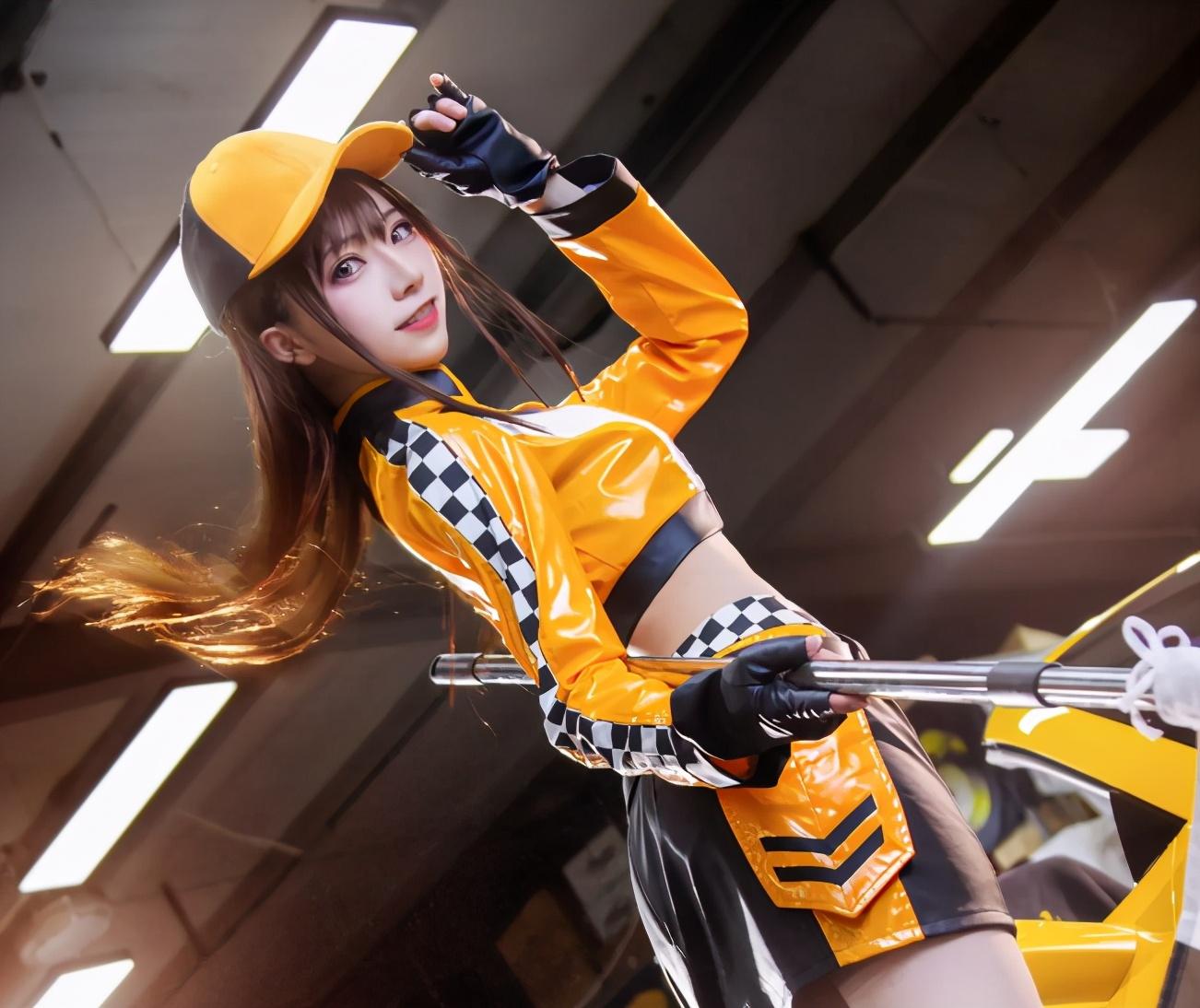 《【煜星娱乐注册平台官网】当飞车小橘子遇上Coser,回忆中的香车和小姐姐,让人又想开车了》