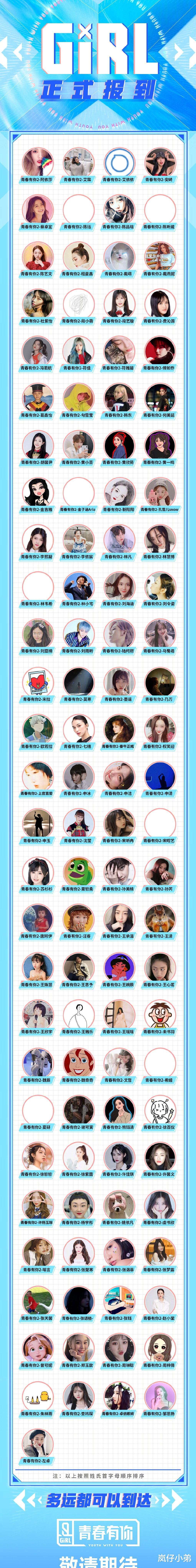 《青春有你2》选手官宣,四胞胎参赛最显眼,SNH48的她预订出道!