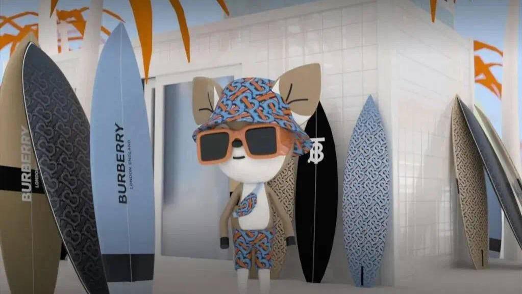 如何不花钱穿上秀场同款服饰?Burberry新款手游上线,奢侈品如何靠游戏营销
