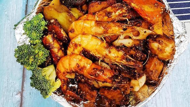 在家做海鲜烧烤为什么会发干?少了这调料,怪不得不滋润没味道