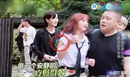 强搂24岁女团成员,把手伸进女艺人裤兜,岳云鹏老实人形象尽毁!