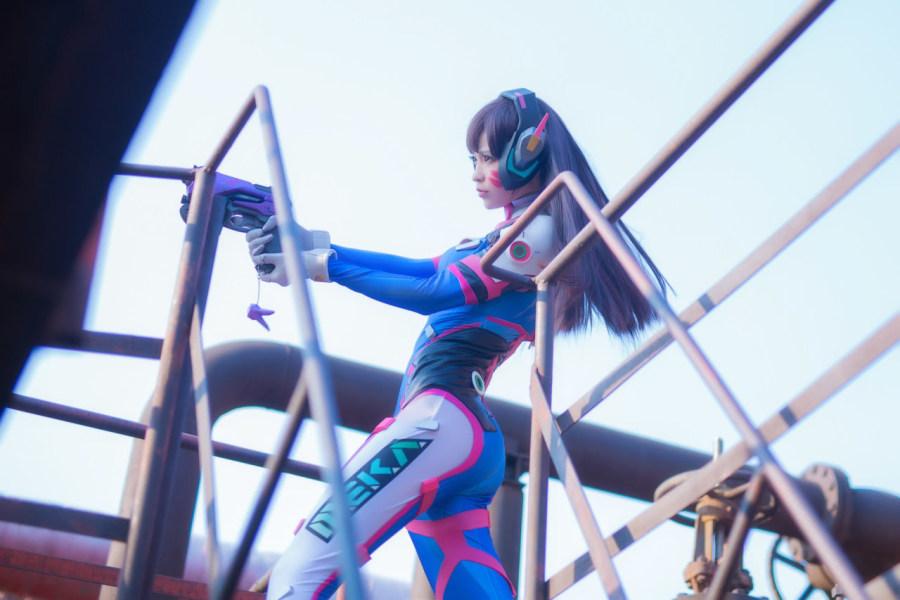 突袭官方网站_cosplay:《守望先锋》D.va@Mio-十一