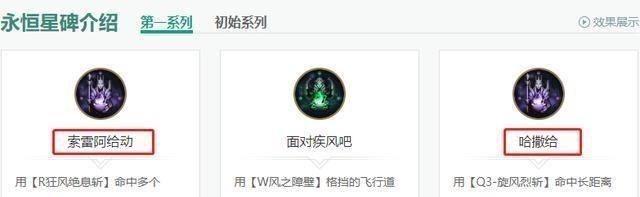 《【煜星娱乐注册平台官网】LOL:永恒星碑的成就名字有多奇葩?亚索的让人看了想笑》